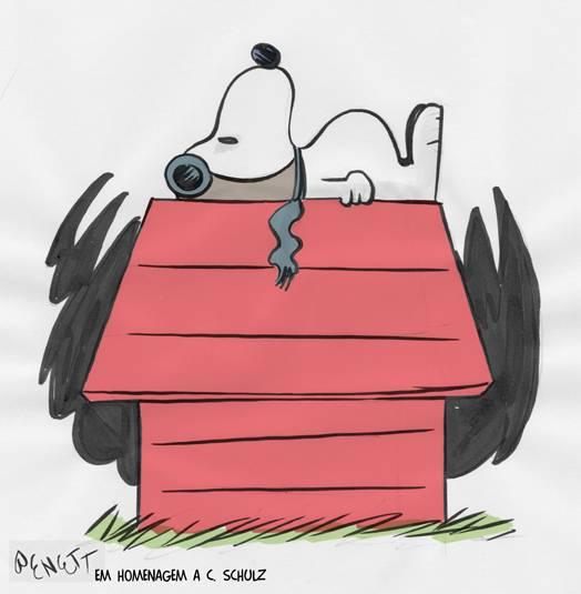 Snoopy, publicada na Gazeta do Povo