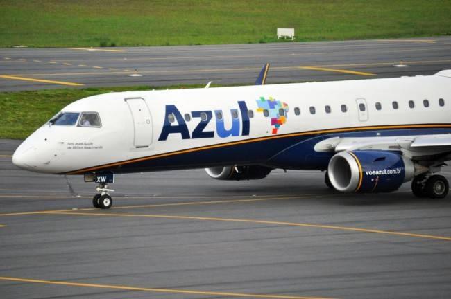 Azul vai ligar Curitiba e Porto Seguro com voo semanal aos sábados (Foto: Gustavo Ribeiro)
