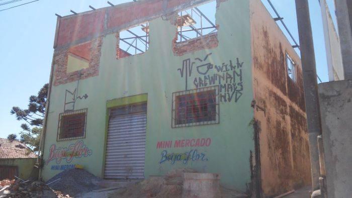 Antiga fachada do futuro empório vegano no Abranches, Curitiba. Foto: Andrey Sanson/Arquivo pessoal