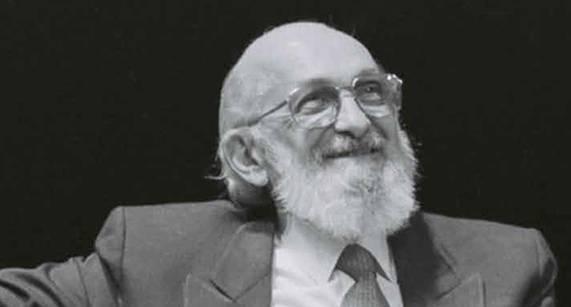 Paulo Freire. Foto: Reprodução/Instituto Paulo Freire.