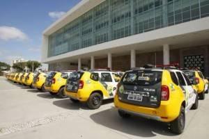 Governo do Paraná admite que há 1,4 mil viaturas da PM paradas