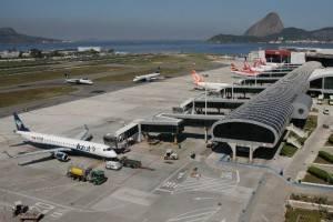 Aeroporto Santos Dumont, no Rio de Janeiro, teve o pior desempenho entre 20 maiores do Brasil (Foto: Divulgação/Infraero)