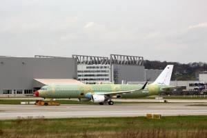 Airbus A321 que reeberá as cores da Latam (Foto cedida por Tobias Gudat/XFW-Spotter)