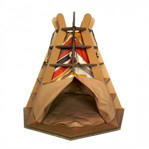 Cabana de índio.