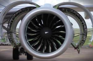 Embraer aciona pela 1ª vez motor que vai mover o novo E190-E2