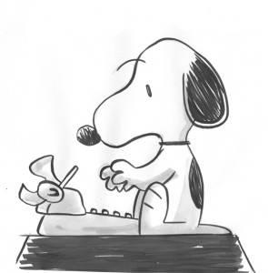 Snoopy, de Charlie Schulz na versão de Benett