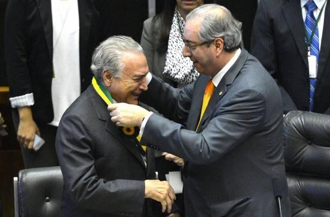 Temer e Cunha. Foto: Antonio Cruz/Agência Brasil.