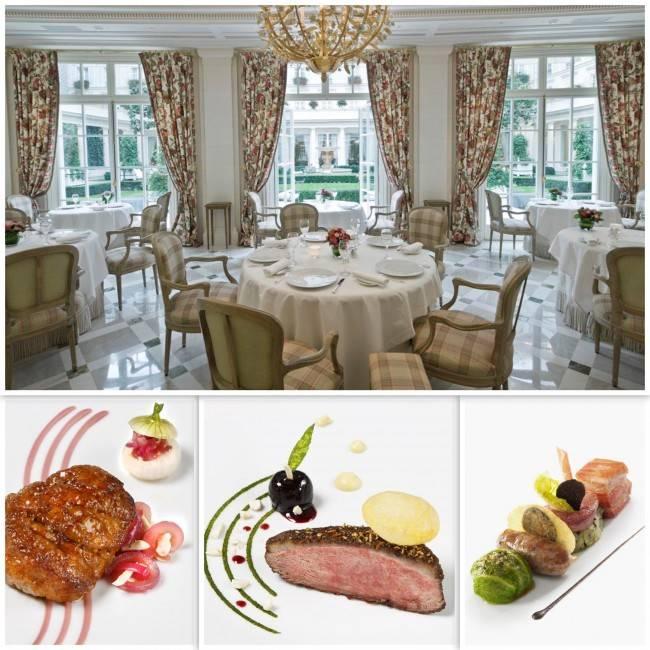 O restaurante Epicuro conta com gastronomia do chef Três Estrelas Michelin, Eric Frechon.