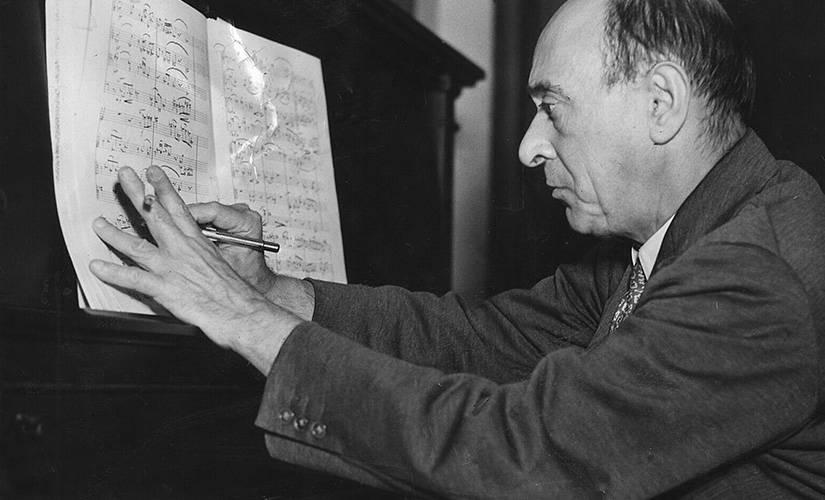 Schoenberg compondo