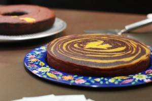 Receita de bolo de beterraba e cenoura para comemorar os três anos de blog!