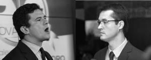 Representantes de vários segmentos da sociedade cobram esclarecimentos de Sergio Moro e Deltan Dallagnol. Fotos: Antonio More e Henry Milleo/Gazeta do Povo