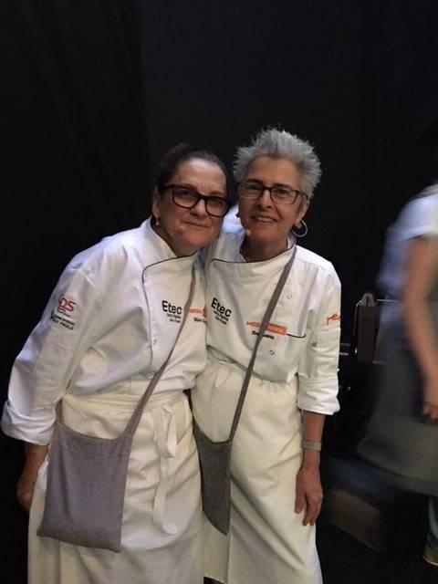 A dupla Mara Salles e Ana Soares brincou com o imaginário e poético mundo da culinária