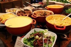 Adele: Experiência gastronômica em buffet por quilo