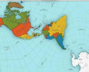 O mapa que você conhece está errado. O mundo, na verdade, é assim