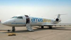 Avião CRJ200 da Amaszonas Uruguay (Foto: Divulgação)