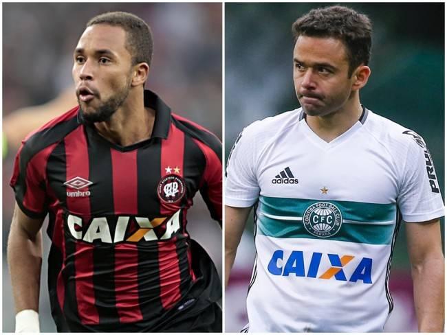 Site aponta melhores e piores de Atlético e Coritiba no BR