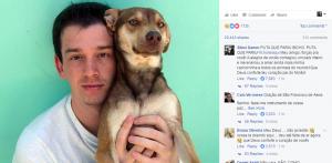 Morre Ninão, o cão curitibano que tem 500 mil seguidores no Facebook