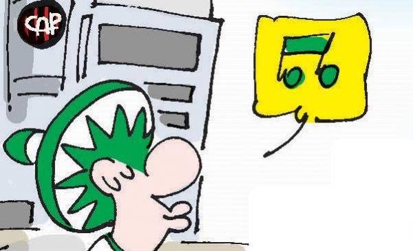 Humor: Los 3 'Inimigos' e a festa do Coritiba no shopping Caldeirón