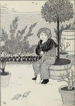 O menino e a árvore