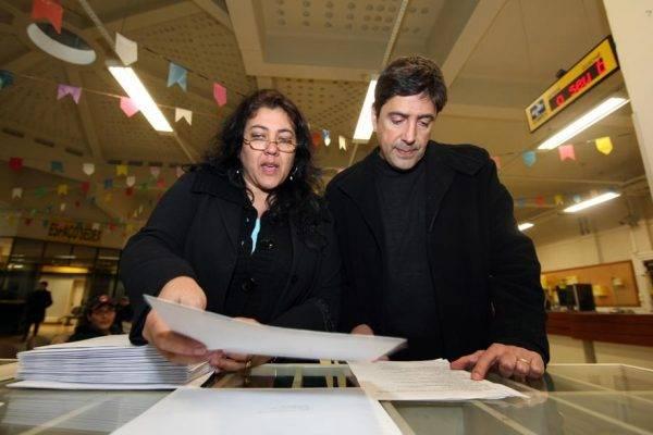 Christiane Yared e o marido, Gilmar. Foto: Albari Rosa/Gazeta do Povo.