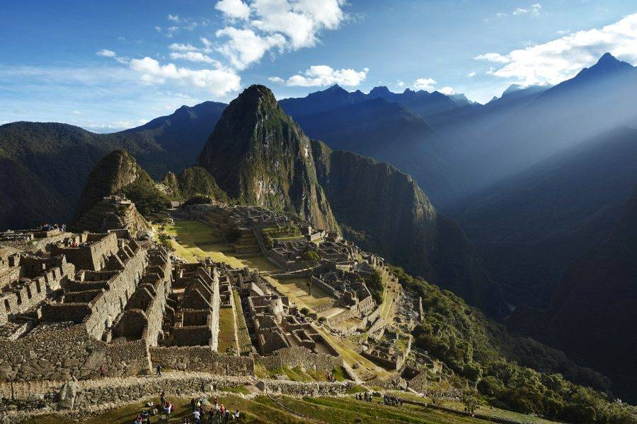 O trem percorre as belíssimas paisagens do Peru com todo o conforto e tranquilidade esperado. (crédito: divulgação/Belmond).