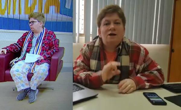 """Após aparecer de """"pijama"""" na TV, Claudia do Procon divulga resposta sensacional na web"""