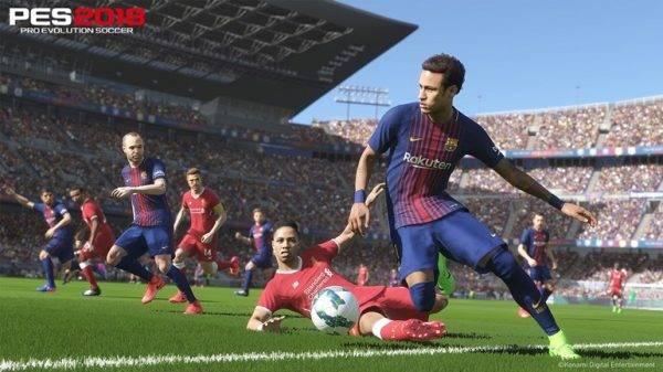 Imagem de Neymar no jogo da Konami.