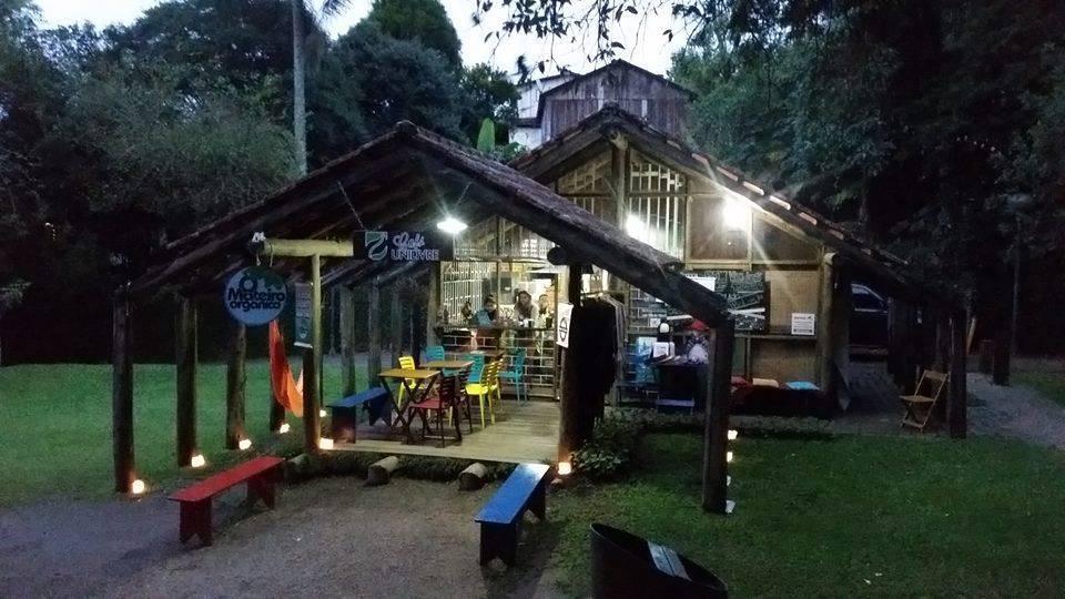 Quiosque O Mateiro Orgânico, na entrada da Universidade Livre do Meio Ambiente. Foto: Reprodução/Facebook