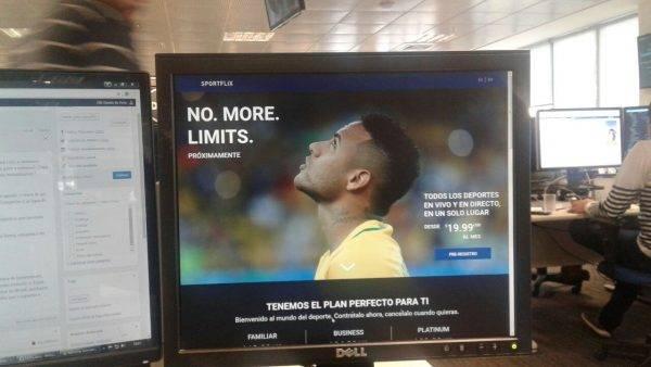 Globo faz alerta sobre anúncio falso do Sportflix, a Netflix do esporte