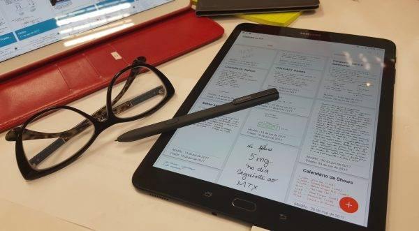 2 meses com o Galaxy Tab S3