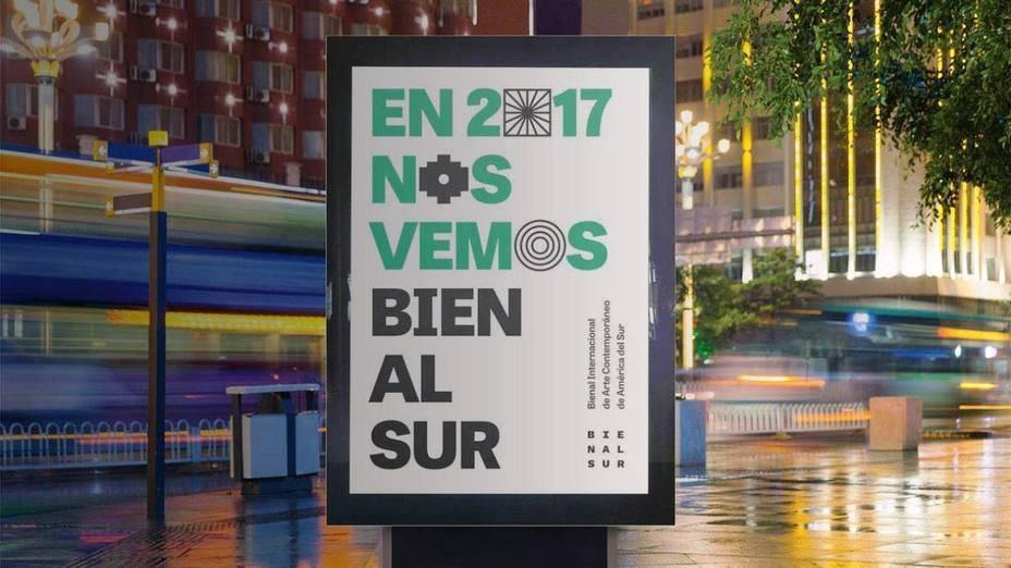 A maior Bienal do mundo começou em Buenos Aires e ainda passa por São Paulo, Montevideo e Rosário. (crédito: divulgação).