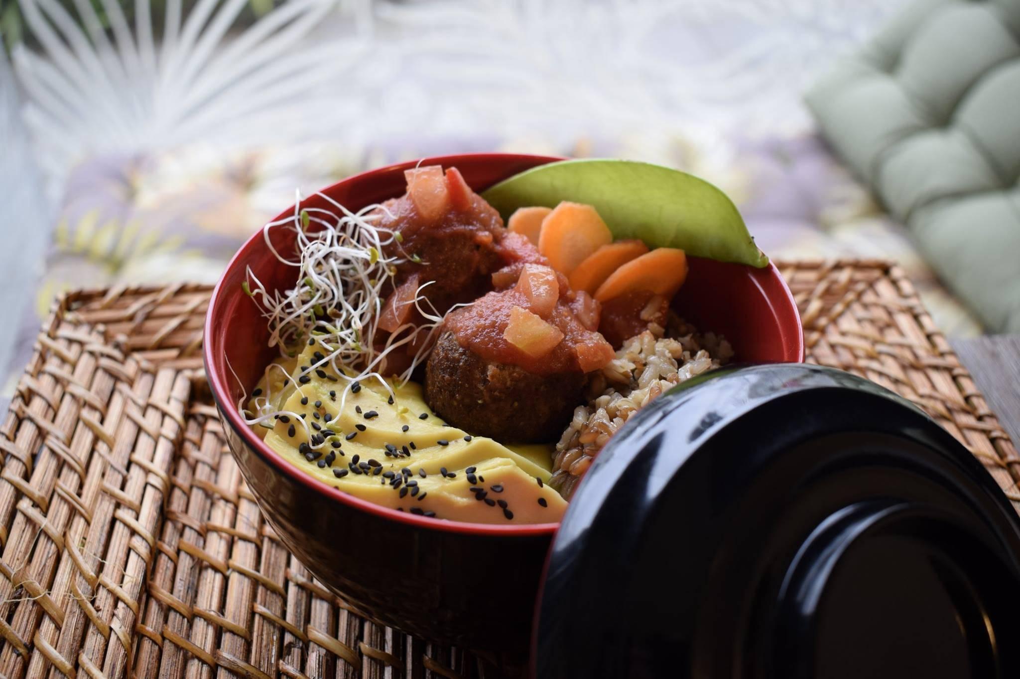 Buda Bowl, prato que se mantém no almoço do Greengo. Foto: Divulgação