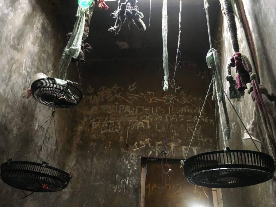 Cela do 8.º DP onde dois presos foram mortos domingo. Foto: Eriksson Denk / Conselho da Comunidade CWB