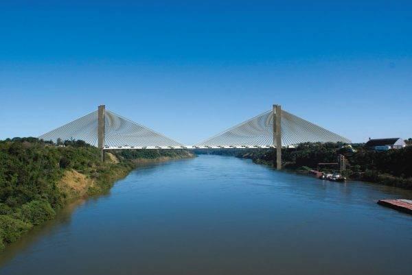 Resultado de imagem para projeto da segunda ponte entre brasil e paraguai