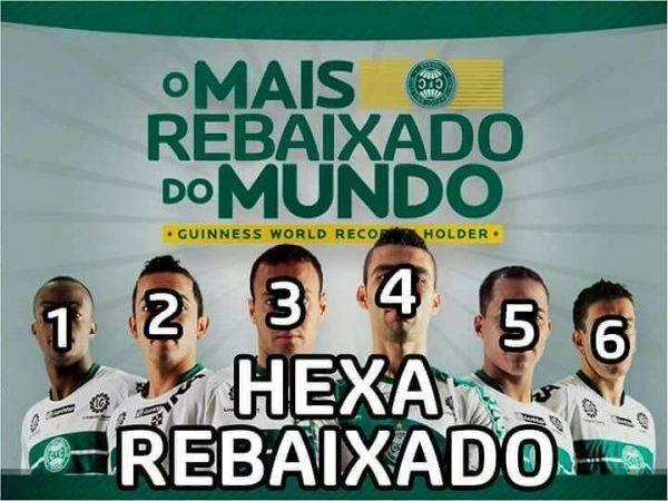 Rivais Nao Perdoam E Queda Do Coritiba No Brasileirao Vira Alvo De Memes