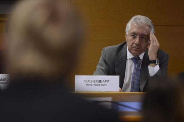 Guilherme Afif, presidente do Sebrae (Foto: Marcelo Camargo/Agência Brasil)
