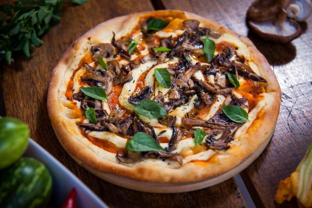 Pizza vegana da Arthorius, que prepara 14 sabores. Foto: Divulgação