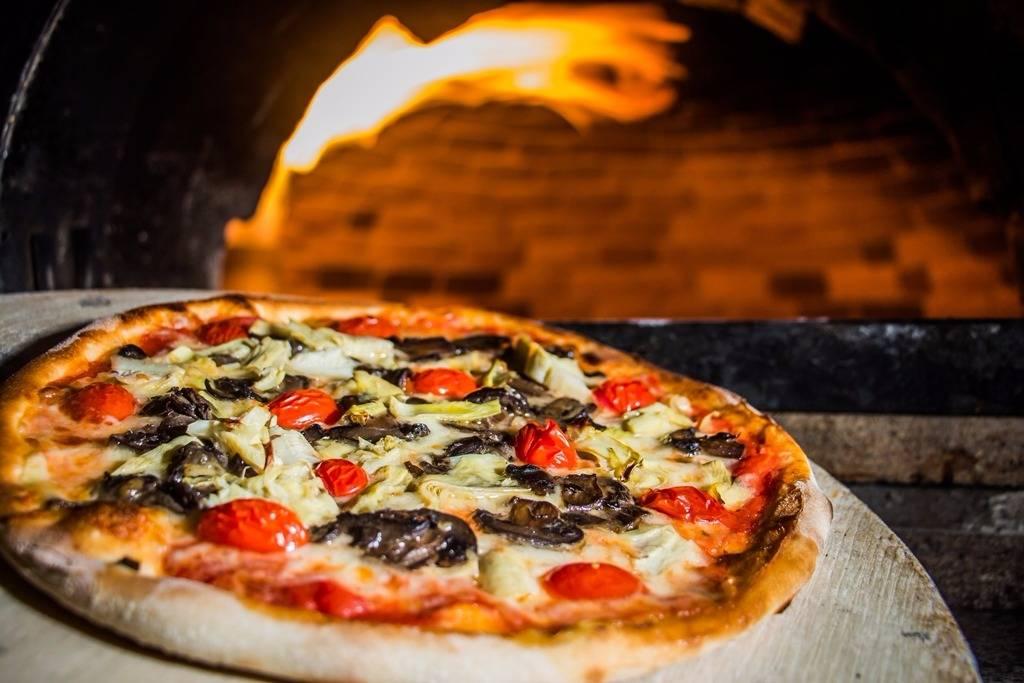 Taormina, sabor vegano da Funiculí que leva molho de tomate, berinjela, alcachofra e tomate cereja. Foto: Divulgação