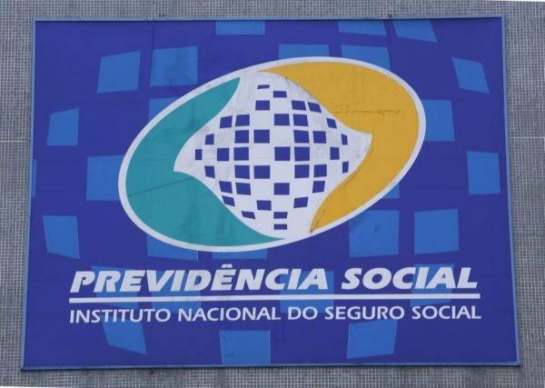 Fachada prédio da Previdencia Social .