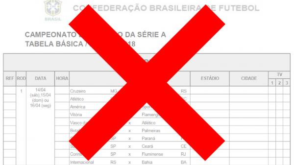Tabela Do Brasileirao 2018 Tem Mais De 100 Erros Aponta Especialista
