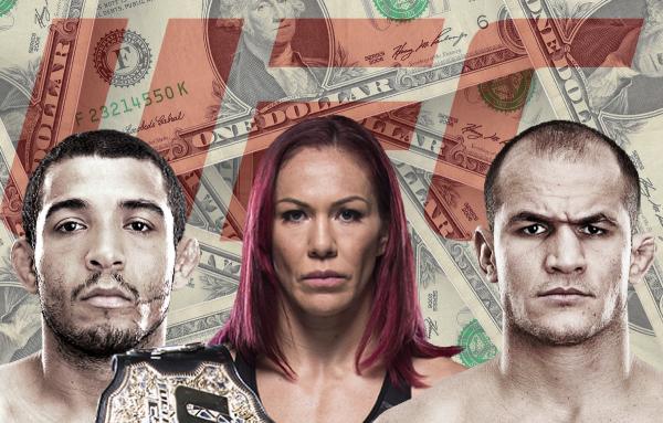 Saiba quanto ganham os brasileiros mais bem pagos do UFC
