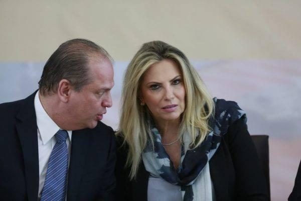 Ricardo Barros e Cida Borghetti. Foto: Marcelo Andrade/Gazeta do Povo.