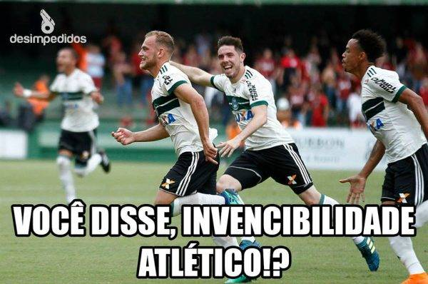 Memes Da Vitoria Do Coritiba Sobre O Atletico No Atletiba Da Final Do Paranaense