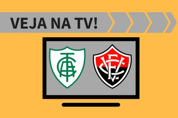 América-MG x Vitória AO VIVO: saiba como assistir ao jogo na TV
