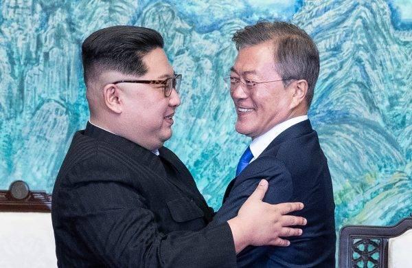 Foto: Korea Summit Press Pool/AFP