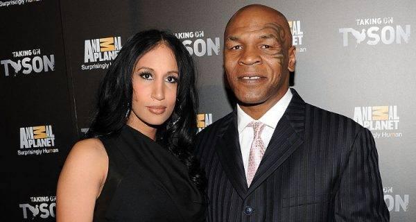 Mike Tyson com a mulher Lakiha: paixão salvadora.