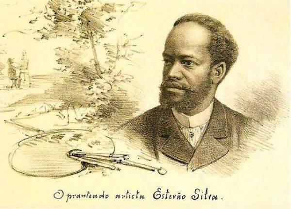 Retrato de Estevão Silva/Reprodução
