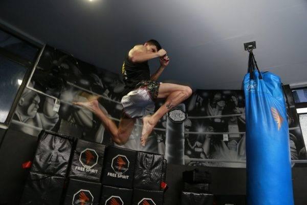 Jonathan sonha em disputar a Olimpíada de 2024. Foto: Marcelo Andrade/Gazeta do Povo.