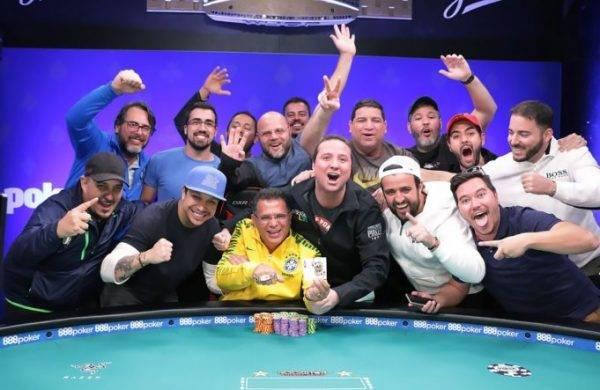 Roberly Felício, campeão do Colossus. Foto: WSOP 2018
