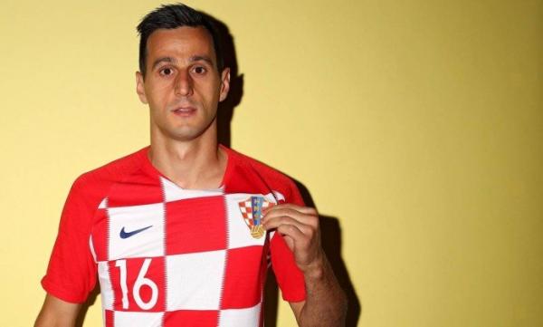 Kalinic, da Croácia, foi cortado da Copa do Mundo 2018. (Foto: Patrick Smith / Fifa)